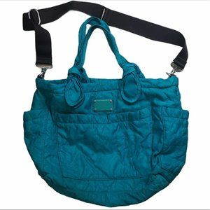 MARC BY MARC JACOBS Eliza Baby Bag Nylon Teal